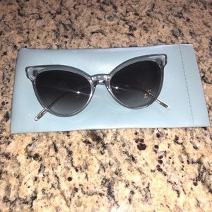NWOT Wildfox cat eye sunglasses